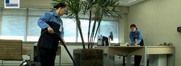Serviços de limpeza e conservação com segurança e eficiência