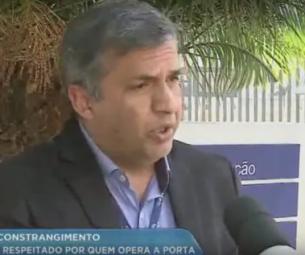 PoliService participa de entrevista com a RICTV sobre porta giratória em bancos